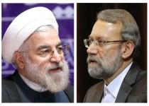 لاریجانی قانون بودجه 93 را برای اجرا به رئیسجمهور ابلاغ کرد