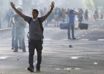 تظاهرات ضد دولتی در ونزوئلا و زخمی شدن 20 معترض