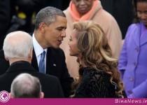 افشای رابطه پنهانی اوباما با یک خواننده / تصویر