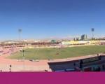 حضور تماشاگران آذربایجانی در استادیوم امام علی کرمان/تصاویر