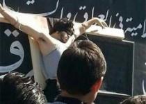 داعش پس از اعدام یک مرد،او را به صلیب کشید+عکس