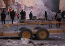 حمله سرکوبگرانه نیروهای رژیم آل خلیفه به تظاهرکنندگان بحرینی