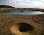الگوی مارپیچی عجیب در صحرای مصر + تصاویر