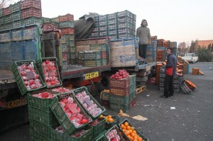 مقایسه قیمت انواع میوه در مغازه و میادین
