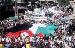 تظاهرات صدها اردنی برای اخراج سفیر رژیم صهیونیستی از امان