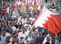 تظاهرات بحرینیها در محکومیت مداخله نظامی عربستان در این کشور