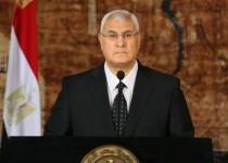 عدلی منصور: به نامزدی در انتخابات ریاست جمهوری نمیاندیشم