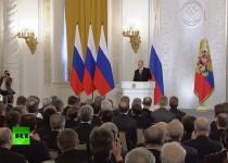 پوتین: غرب از خطوط قرمز عبور کرده است/ از تهدیدهای آمریکا نمیترسیم
