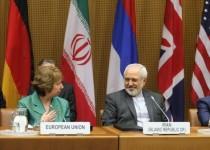 نشست خبری مشترک اشتون و ظریف در پایان مذاکرات در وین
