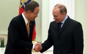 ابراز نگرانی بان کی مون نسبت به بحران میان مسکو -کییف