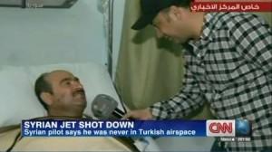 خلبان جنگنده سوری: هرگز وارد حریم هوایی ترکیه نشدم
