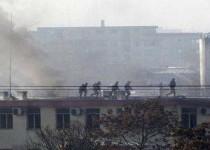 حمله به کمیسیون انتخابات افغانستان با کشته شدن مهاجمان پایان یافت