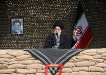 رهبر انقلاب در اجتماع عظیم زائران مناطق عملیاتی دفاع مقدس