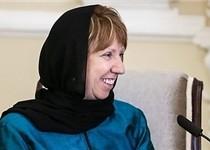 اشتون:در سفرم به ایران تمرکز ویژهای روی موضوع حقوق بشر داشتم