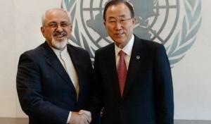نامه ظریف به بانکیمون برای اقدام قاطع جهت آزادی مرزبانان ایرانی