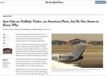 فرود هواپیمای آمریکایی در مهرآباد تکذیب شد