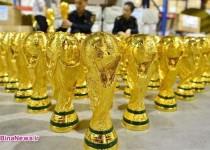 جام جهانی چینی هم ساخته شد!/عکس