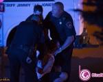 پلیس آمریکایی گلوی دانشجوی بیدفاع را تا مرز خفگی فشرد/ تصاویر