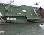 لحظه فرار کاپیتان کشتی کرهای و تنها گذاشتن صدها مسافر / تصاویر