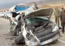 یک کشته و 4 مجروح در تصادف 8 خودرو در آزادراه کرج – قزوین