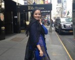 پوشش بازیگر زن ایرانی در آمریکا چگونه است/عکس