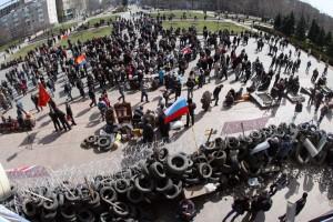 جداییطلبان خارکف اعلام خودمختاری کردند/هشدار آمریکا به روسیه