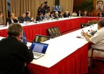 نخستین دیدار نمایندگان دولت و اپوزیسیون ونزوئلا