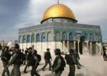 یورش مجدد صهیونیستها به مسجد الاقصی و زخمی شدن 37 فلسطینی
