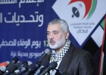 هنیه: زمان تحقق آشتی ملی فلسطین فرارسیده است