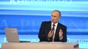 پوتین: اینترنت پروژه سیا است