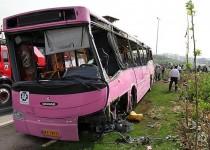 7 کشته در واژگونی اتوبوس در آزادگان/ تشکیل تیم ویژه بررسی علت + تصاویر
