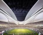 استادیوم المپیکی ژاپن رونمایی شد/تصاویر