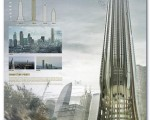 طرح ایستگاههای عمودی جهان ؛ قطارهایی که از آسمانخراشها بالا میروند