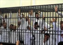 صدور حکم اعدام برای 38 عضو اخوان و حبس ابد برای 491 تن دیگر