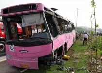 اسامی ۸ کشته حادثه واژگونی اتوبوس در آزادگان اعلام شد