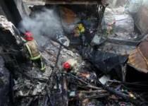 مهار آتش سوزی انبار موادمحترقه