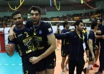 تیم والیبال متین ورامین قهرمان آسیا شد
