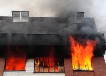 مرگ مرد تنها در آتش خانهاش