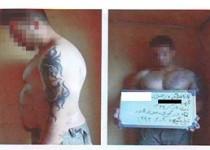 """""""الیور"""" ترسناک پایتخت در سطل آشغال دستگیر شد/عکس متهم"""