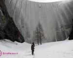صعود از بلندترین دیوار غیرطبیعی/ تصاویر