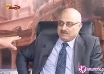 درگیری در برنامه زنده تلویزیونی / تصاویر