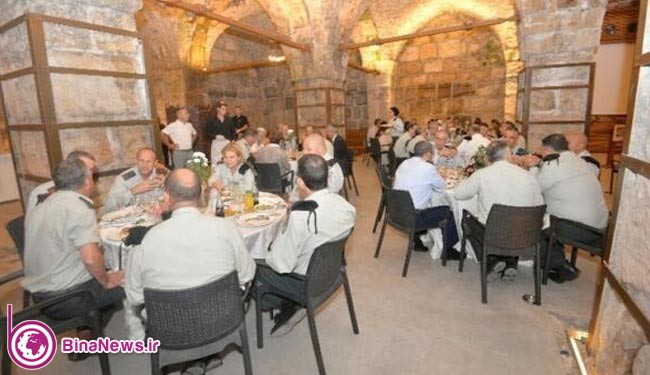 عکس جنجالی از مهمانی شام صهیونیستها