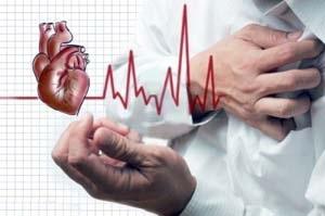 تپش قلب همراه با درد قفسه سینه نشانه خطر است