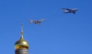 پرواز هواپیماهای نظامی روسیه بر فراز آسمان منطقه کریمه