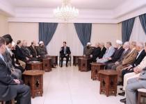 اسد: بحران سوریه از طریق طرفهای خارجی حل و فصل نمیشود