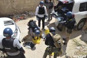 بازرسان برای تحقیق درباره استفاده نظامی از گاز کلر وارد سوریه شدند