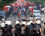 درگیری پلیس و معترضان در ترکیه