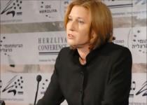 لیونی از سرگیری مذاکرات صلح با فلسطینیها را خواستار شد