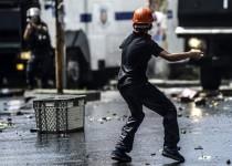 تظاهرات علویان علیه استفاده پلیس ترکیه از زور