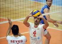 شکست ایران از ایتالیا در لیگ جهانی والیبال